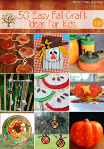 Awesome, Quick, and Easy Kids Craft Ideas For Fall