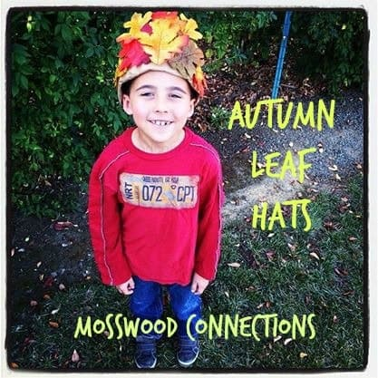 Autumn-Leaf-Hats-kids-craft-ideas-for-fall