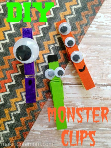 DIY-Monster-Clips-kids-craft-ideas-for-fall