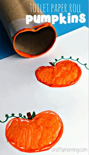 toilet-paper-roll-pumpkin-stamp-halloween-craft-kids-craft-ideas-for-fall