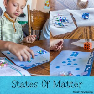 States Of Matter Learning Ideas