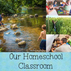 Our Homeschool Room 2016-2017