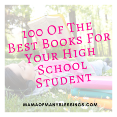 100 Of The Best Books For Your High School Student Square