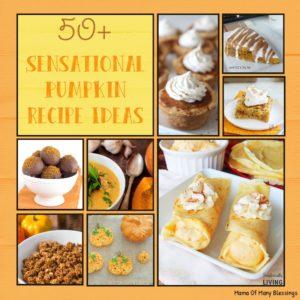 50+ Sensational and Outstanding Homemade Pumpkin Recipes