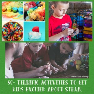 50+ Terrific Activities To Get Kids Super Excited About STEAM