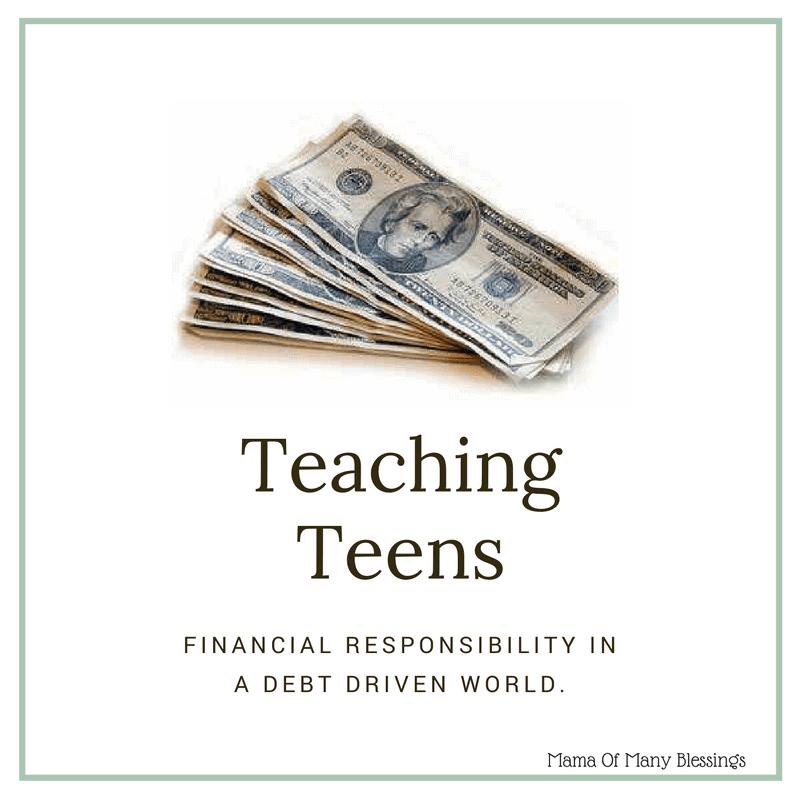 Teen Financial Responsibility 15