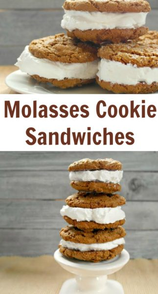 molasses-cookie-sandwiches