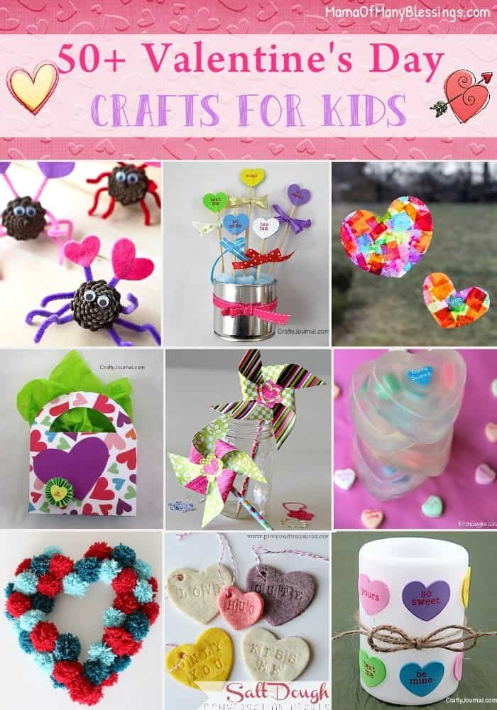 Easy Kids Craft Ideas Part - 27: 50-Kids-Craft-Ideas-For-Valentines-Day-3