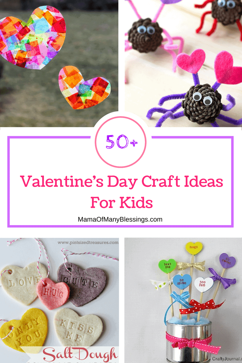 50 awesome quick and easy kids craft ideas for for Crafts for valentines day ideas