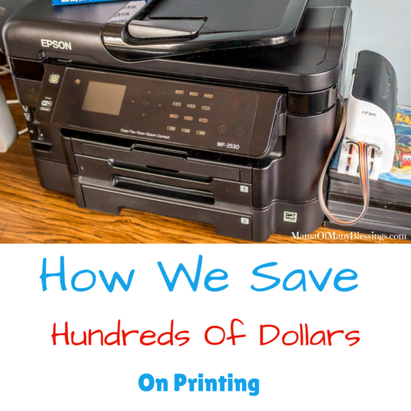 save tons of money on printing