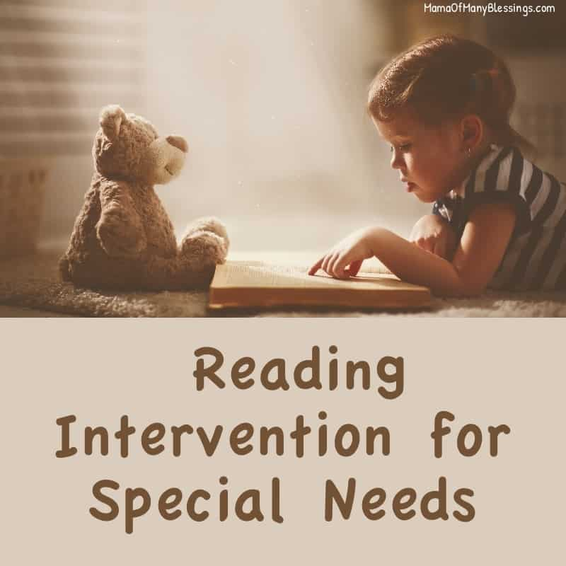 Reading Intervention For Special Needs 2