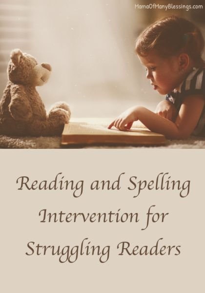 Online homeschool Reading Intervention For Special Needs