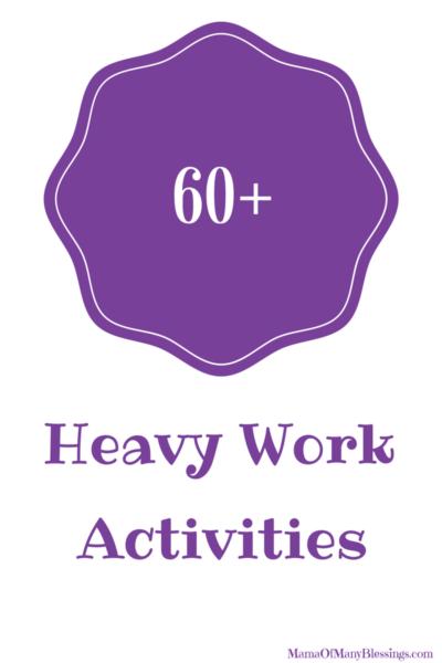 60 Heavy Work Activities 3
