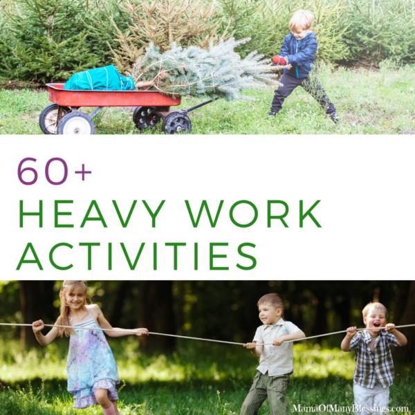 60 Heavy Work Activities