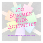 Fun and Cheap Summer Activities To Keep Kids Busy