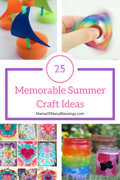 25 Memorable Summer Craft Ideas