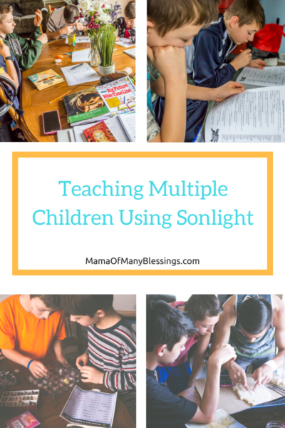 Teaching Multiple Children Using Sonlight 3
