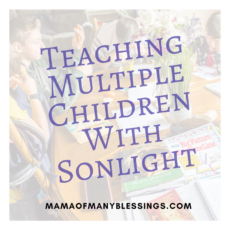 Teaching Multiple Children With Sonlight 2
