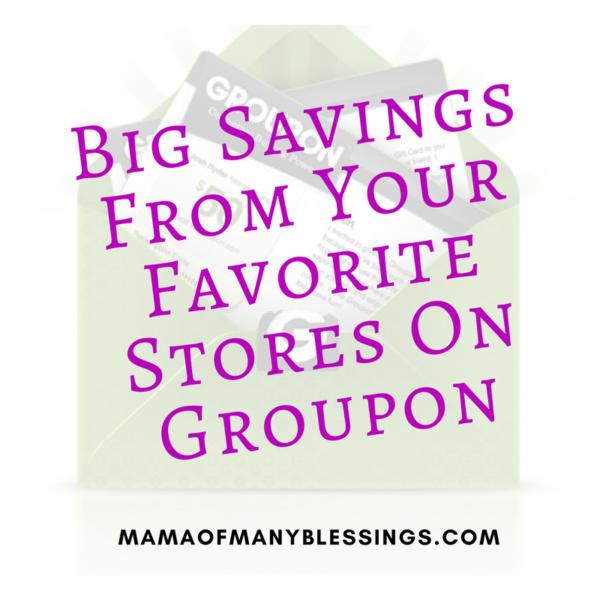 Big Savings On Groupon