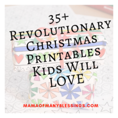 35 Christmas Printables Kids Will LOVE Featured Blog Image