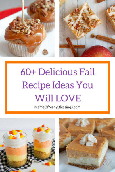 60+ Fall Recipes You Will LOVE Pinterest