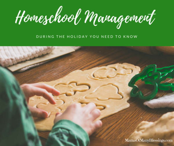 Homeschool Management During The Holiday You Need To Know Facebook