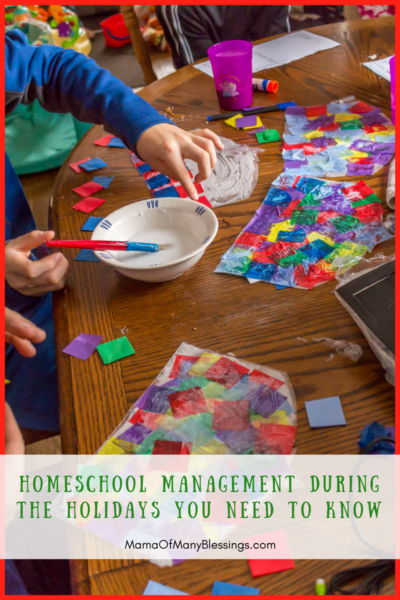 Homeschool Management During The Holidays You Need To Know Social Media