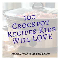 100 Crockpot Recipes Kids Will Love Square