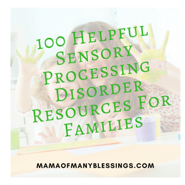 100 SPD Resources Helpful For Families Square