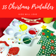 Christmas Printables Kids Will LOVE Facebook