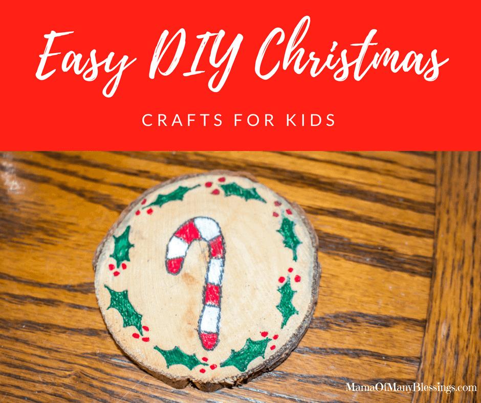 Easy DIY Christmas Crafts For Kids Facebook