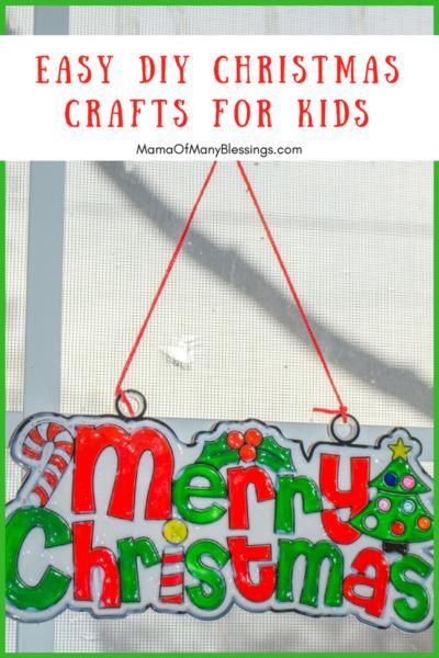 Easy DIY Christmas Crafts For Kids Social Media