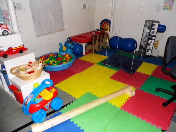 Our Playroom/ Sensory Motor Room