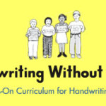 Handwriting Without Tears~Kindergarten (TOS Crew Review)