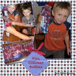 4th Of July Kids Activities ~ DIY Firecracker Bottles
