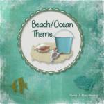 Beach Sensory Bin