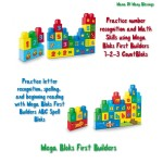 Mega Bloks First Builders House Party: Learning With Bloks