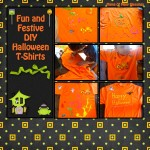 Easy DIY Halloween T Shirts