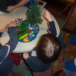 Christmas Montessori Activities ~ Tree Decorating