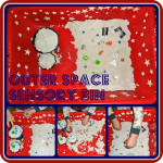 Outer Space Sensory Play Idea For Kids