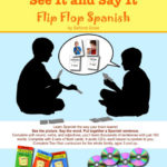 See It Say It Flip Flop Spanish ~ Schoolhouse Review ~ #hsreview