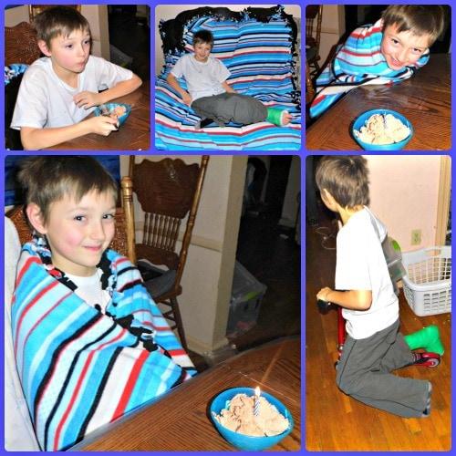Anthony Birthday Collage