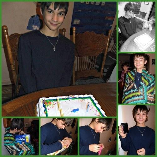 Dustin Birthday Collage
