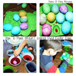 Easter Egg Decorating ~ Dying Eggs