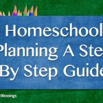 Homeschool Planning ~ Organizing It All