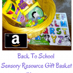 Back To School Sensory Resources Gift Basket Giveaway
