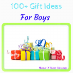 Over 100 Gift Ideas For Boys