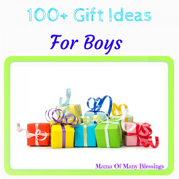 100+ Gift Ideas For Boys