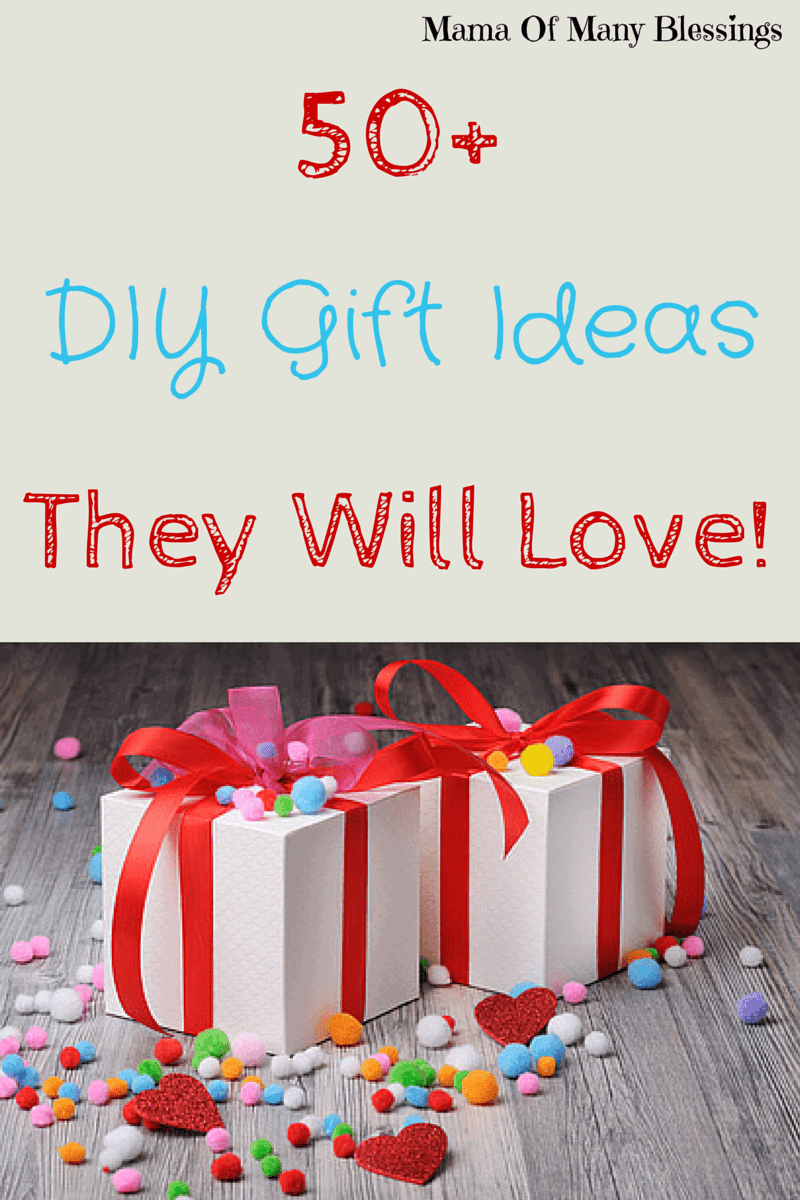 gift crafts ideas 50 diy gifts 2078
