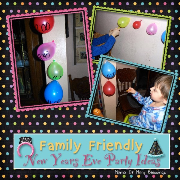 Family Friendly New Years Eve Party Ideas